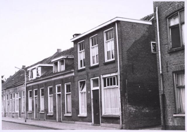 024056 - Arbeiderswoningen aan de Anna Paulownastraat in de inmiddels afgebroken wijk Koningswei