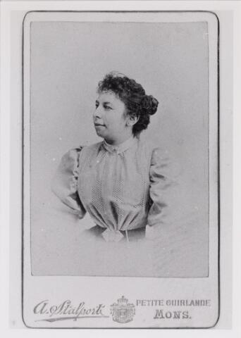 048773 - Wilhelmina Virginie Blanche Juliette Charlotte Le Mire geboren Anderlecht (elgië) 12 april 1874, overleden Lage Mierde 7 november 1964
