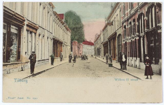 003027 - Willem II-straat vanuit de Heuvelstraat.