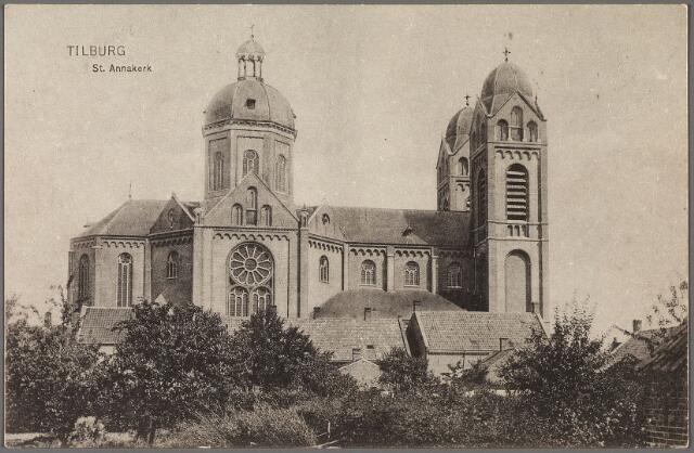 010323 - zijaanzicht St. Annakerk aan de Capucijnenstraat.