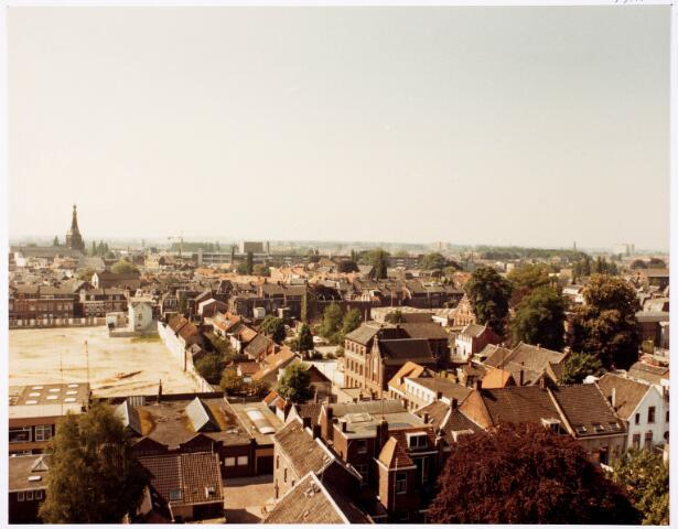 036657 - Panorama van Tilburg vanaf de flat aan de Spoorlaan 392