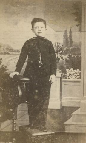 066142 - Frits Swagemakers (Fredericus Hubertus Maria), geboren te Tilburg op 3 november 1858 en aldaar overleden op 12 juli 1932. Hij trouwde met Henriëtte van Roessel.