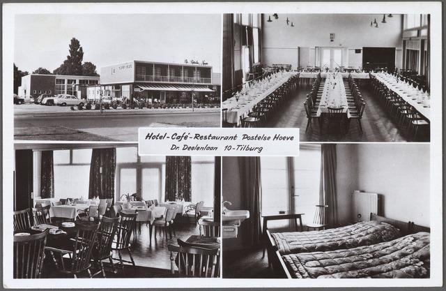 010609 - Hotel-café-restaurant de Postelse Hoeve aan de Dr. Deelenlaan.