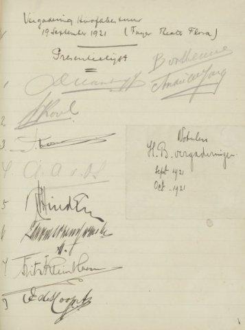 Jaarverslagen 1921-09-19