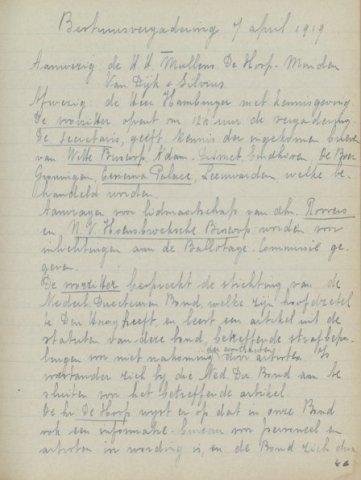Jaarverslagen 1919-04-07