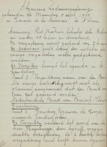 Jaarverslagen 1919-09-08