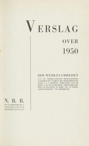Jaarverslagen 1950-01-01