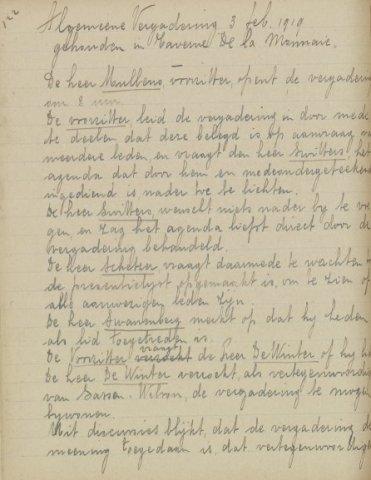 Jaarverslagen 1919-02-03