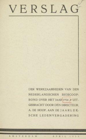 Jaarverslagen 1934-01-01