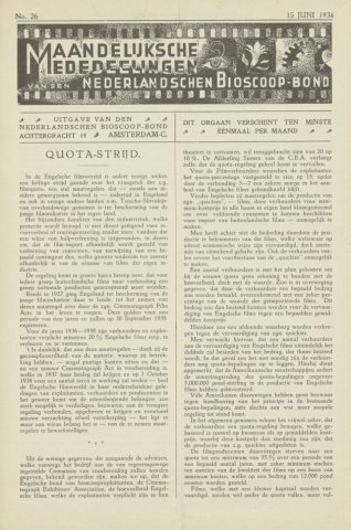 Ledenbulletin en maandelijkse mededelingen 1936-06-15