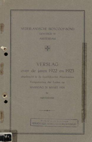 Jaarverslagen 1922-01-01