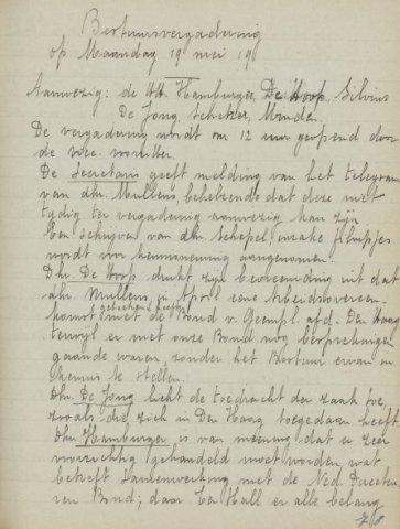 Jaarverslagen 1919-05-19