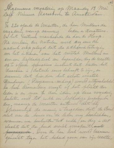Jaarverslagen 1918-05-13