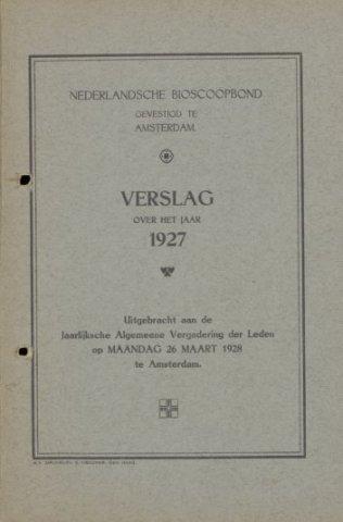 Jaarverslagen 1927-01-01