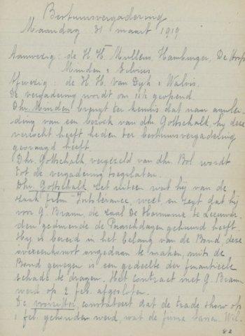 Jaarverslagen 1919-03-31