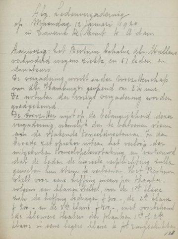 Jaarverslagen 1920-01-12