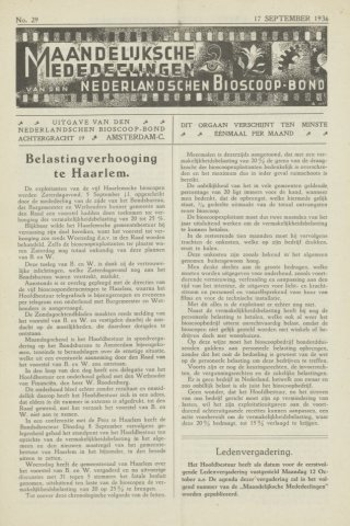 Ledenbulletin en maandelijkse mededelingen 1936-09-17