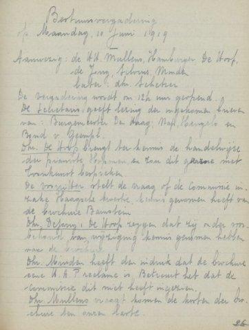 Jaarverslagen 1919-06-10