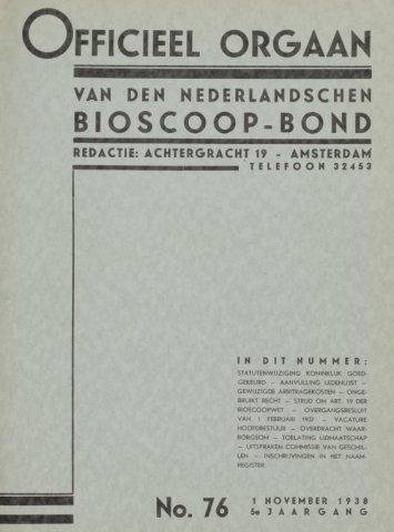 Officieel Orgaan 1938-11-01
