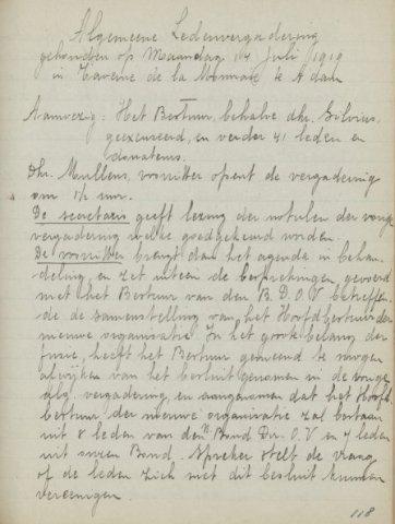 Jaarverslagen 1919-07-14
