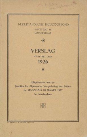 Jaarverslagen 1926-01-01
