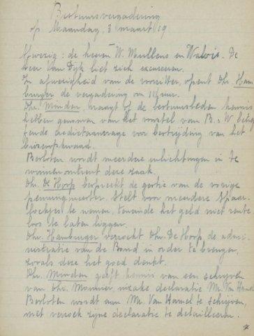 Jaarverslagen 1919-03-03