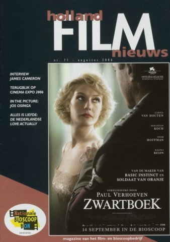 Holland Film Nieuws 2006-08-01