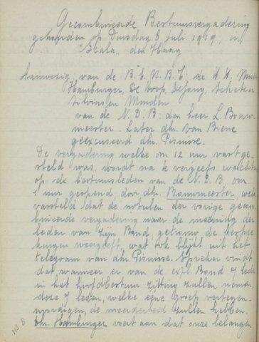 Jaarverslagen 1919-07-08