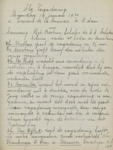 Jaarverslagen 1920-02-01
