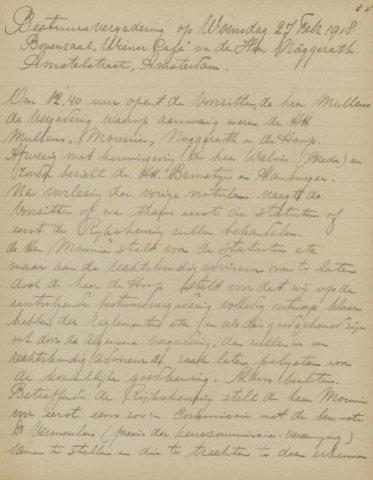 Jaarverslagen 1918-02-27