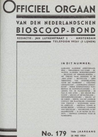 Officieel Orgaan 1954-05-20