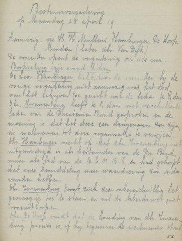 Jaarverslagen 1919-04-28