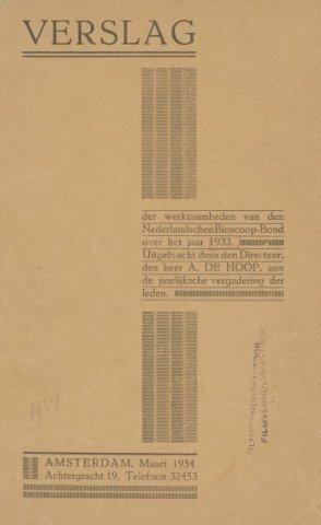Jaarverslagen 1933-01-01