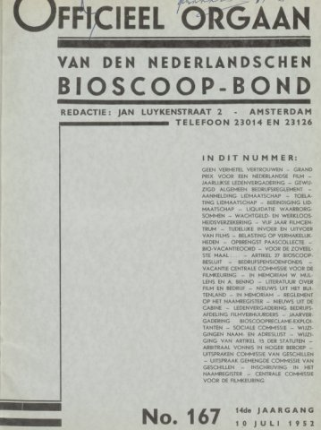 Officieel Orgaan 1952