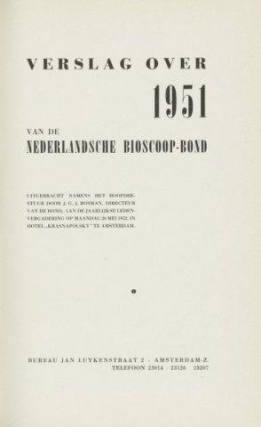 Jaarverslagen 1951-01-01