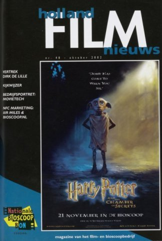Holland Film Nieuws 2002-10-01