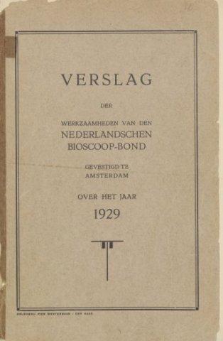 Jaarverslagen 1929-01-01