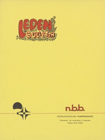 Ledenbulletin en maandelijkse mededelingen 1969-12-01