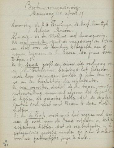 Jaarverslagen 1919-04-14