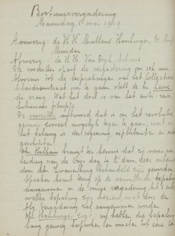 Jaarverslagen 1919-05-05