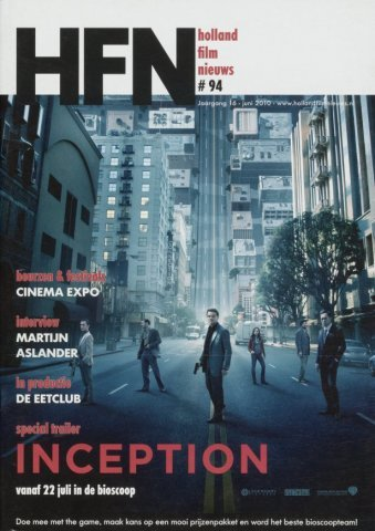 Holland Film Nieuws 2010-06-01