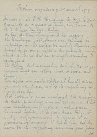 Jaarverslagen 1919-03-24