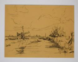 Aanwinst Molenmuseum werken Aart Roos