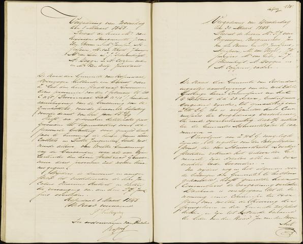 Roosendaal: Notulen, 1830-1851 1848