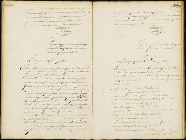 Wouw: Notulen gemeenteraad, 1813-1996 1833