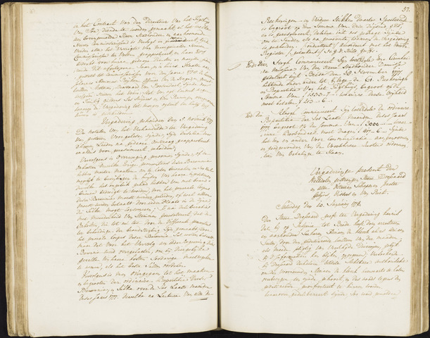 Roosendaal: Registers van resoluties, 1671-1673, 1675, 1677-1795 1778