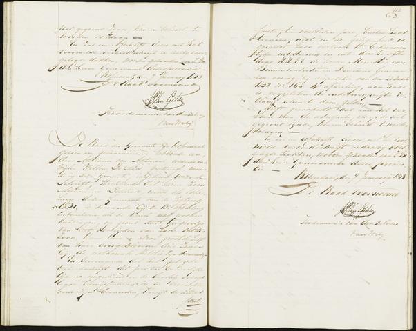 Roosendaal: Notulen, 1830-1851 1833