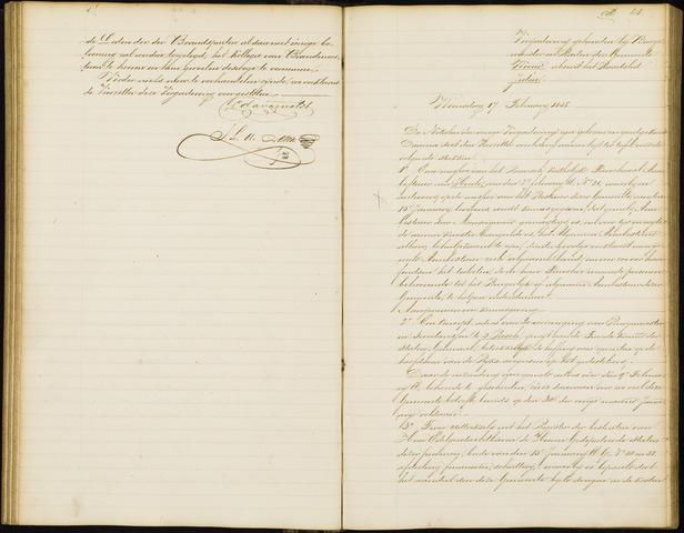 Wouw: Notulen gemeenteraad, 1813-1996 1858