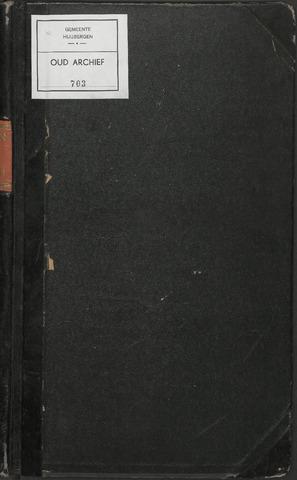 Huijbergen: Notulen gemeenteraad 1935-1996 1935-01-01
