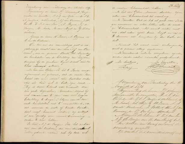 Roosendaal: Notulen gemeenteraad (besloten), 1851-1916 1871
